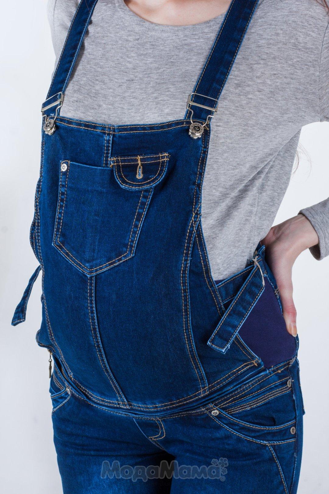 Комбинезон из джинсов своими руками фото